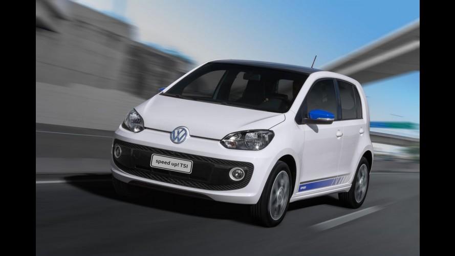 VW up! TSI fica mais caro um mês após o lançamento e sai por R$ 43.990