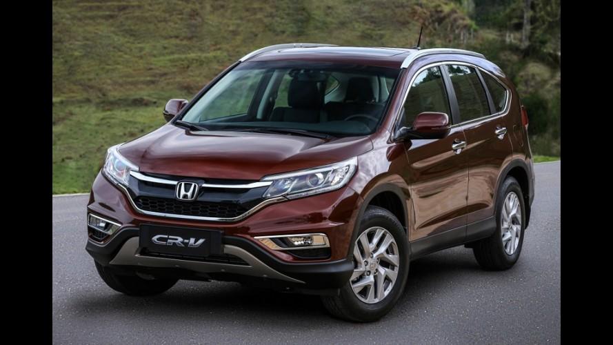 Previsto para 2017, novo Honda CR-V ficará maior para se distanciar do HR-V