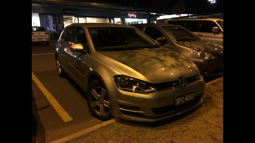 Flagra: VW Golf TSI nacional deve trocar câmbio DSG pelo Tiptronic