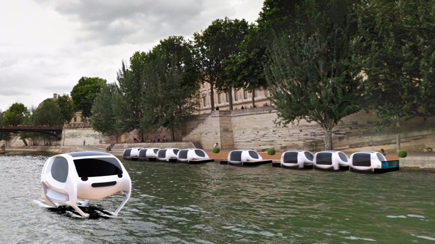 Paris - Des voitures volantes sur la Seine dès 2017