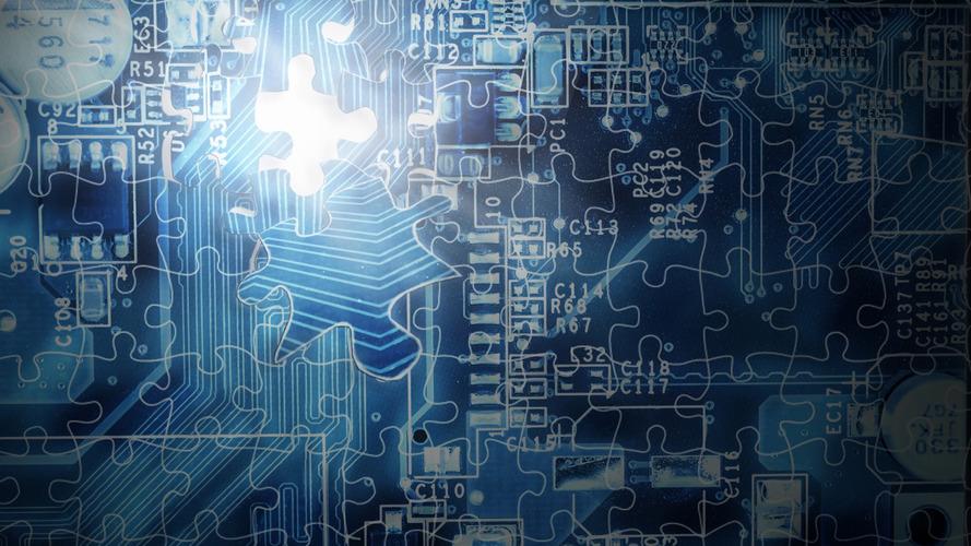 Silicon Computer Board
