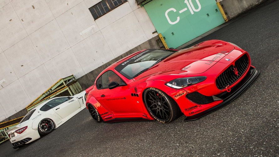 Maserati GranTurismo'ya Liberty Walk modifiyesi