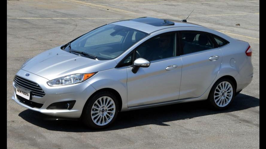 New Fiesta Sedan 2016 ganha nova versão e mais itens de série