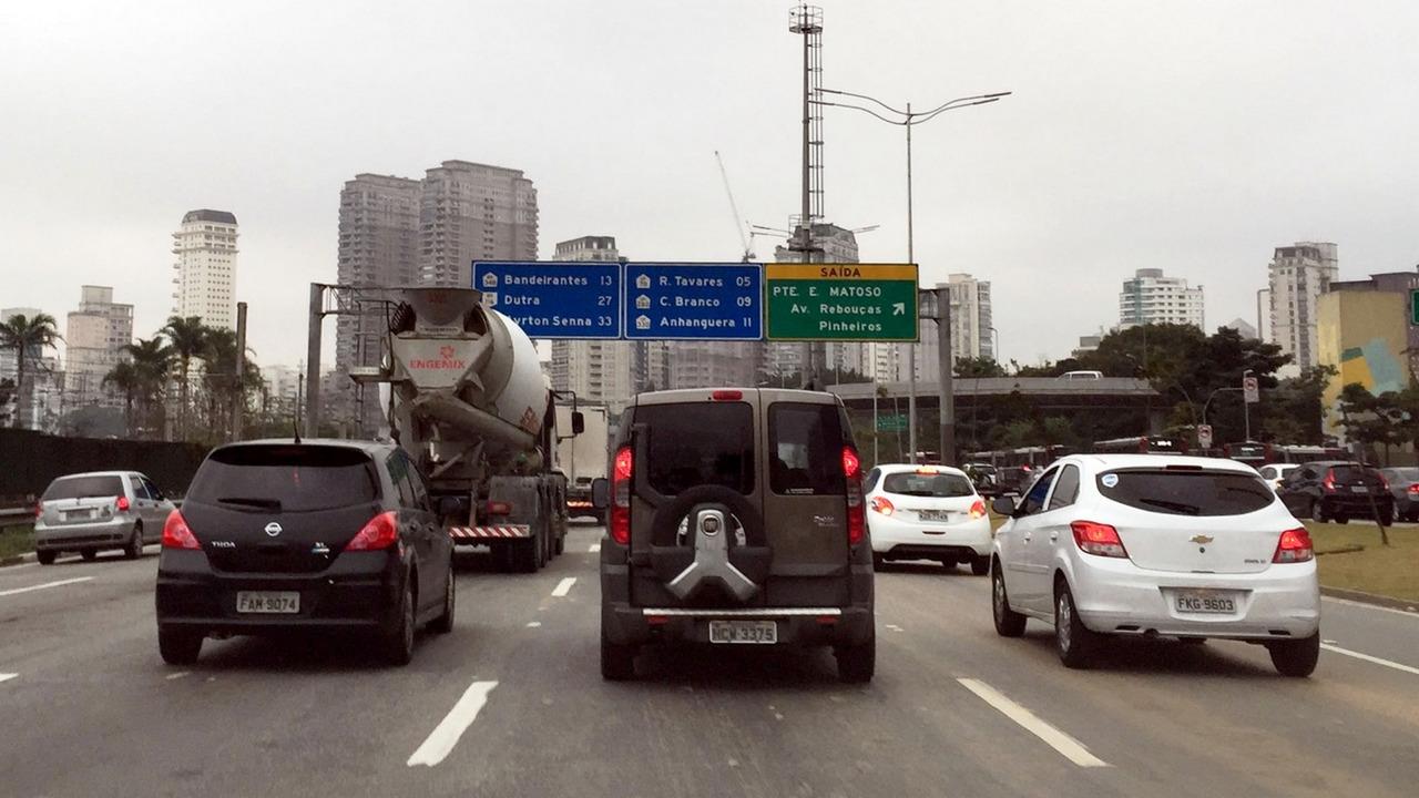 Marginais - trânsito