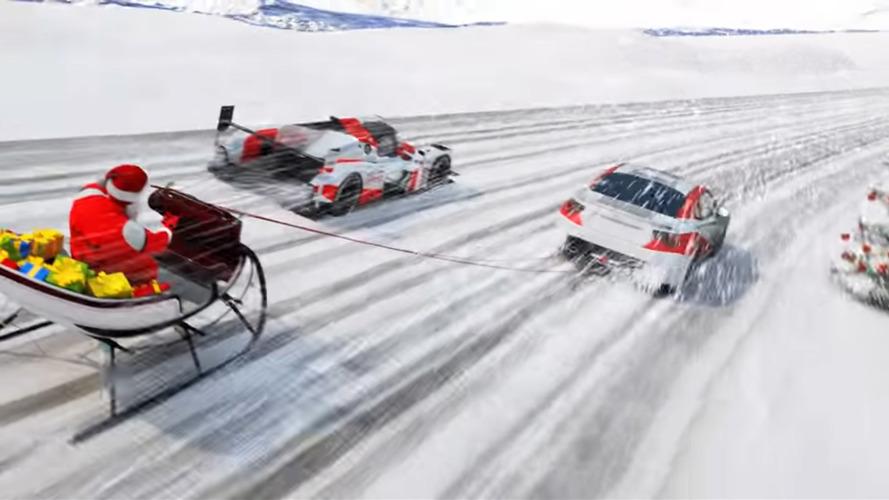 Toyota Motorsport présente sa carte de voeux !