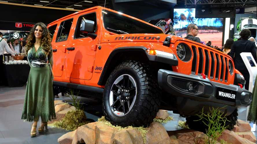 Salão de SP: Nova geração do Jeep Wrangler estreia com boas novidades