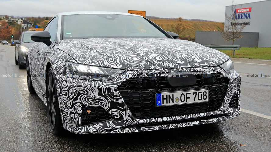 All-New Audi RS7 Spy Photos