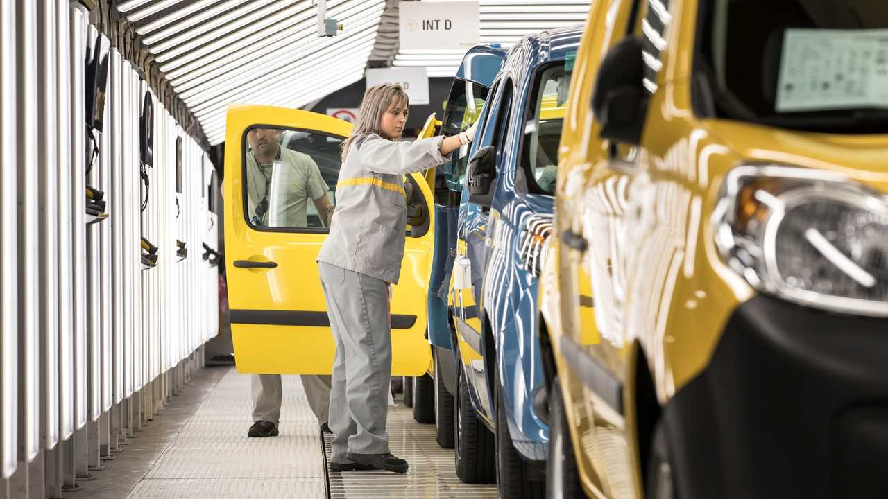 Renault Kangoo Production Maubeuge