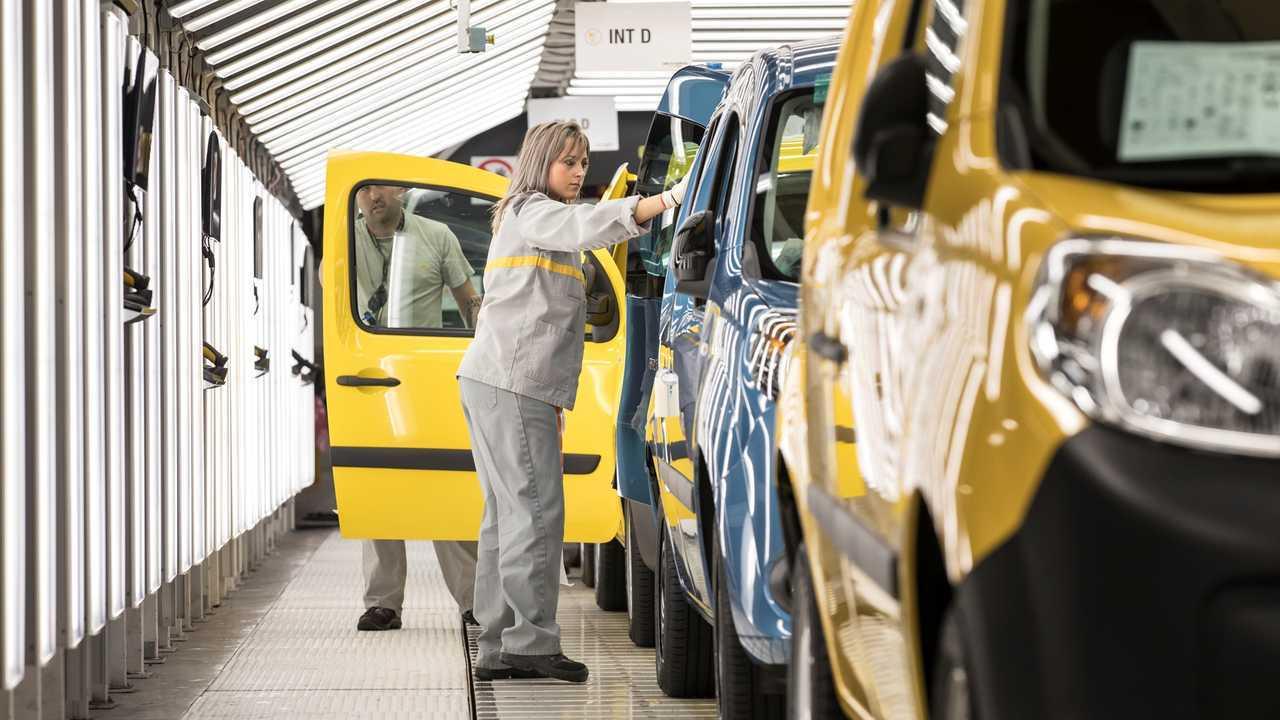 Renault Kangoo Production Maubeuge