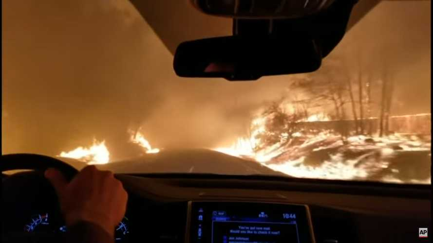 Frightening Video Shows Speed Of Deadly California Wildfire