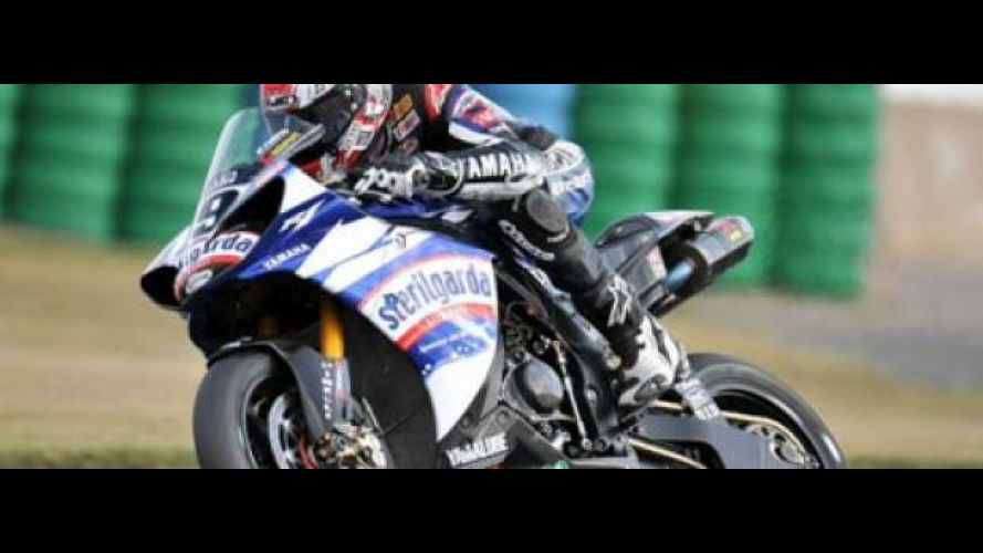 WSBK 2009, Magny Cours, Superpole di Spies