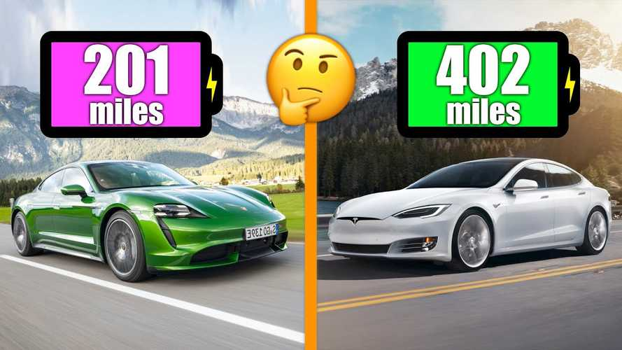 Why Does Tesla Model S Beat Porsche Taycan EPA Rating? Car And Driver Explains