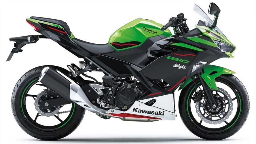 2021 Kawasaki Ninja 250 KRT Edition Minifies Those WSBK Graphics
