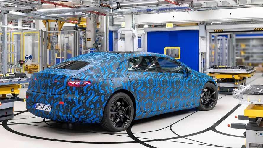 Mercedes EQ - produção