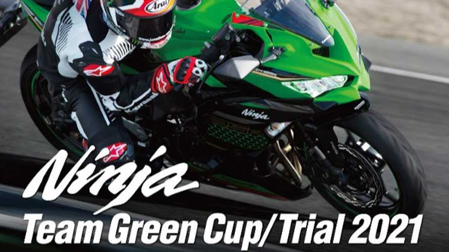 Kawasaki Rolls Out Ninja Team Green Racing Cup For ZX-25R Owners