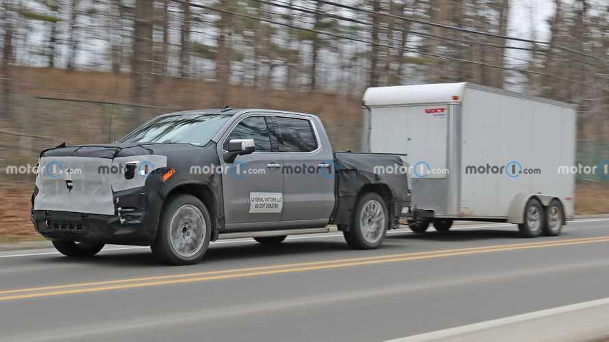 2022 GMC Sierra 1500 Denali Spy Shots