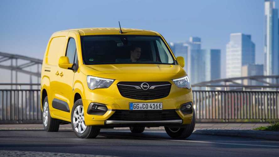 Opel Combo Cargo, arriva l'elettrico