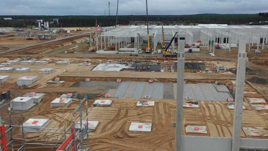 Tesla Giga Berlin Construction Progress: October 9, 2020