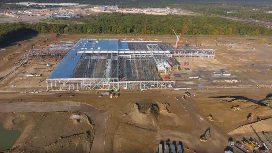 Ultium Cells Battery Plant Construction Progress: October 2020