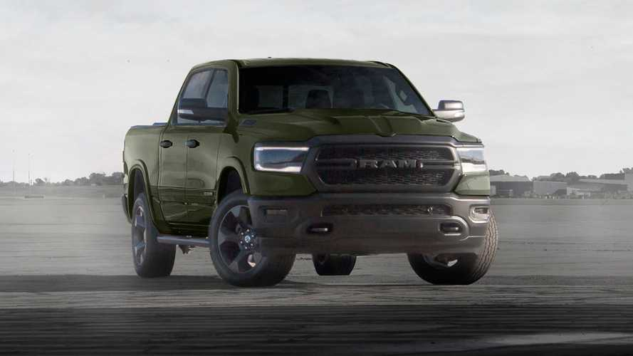 Latest Ram 1500 Built To Serve Editions Debut In Tank Green, Flame Red