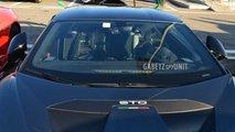 2021 Lamborghini Huracan STO surprise près de Modena