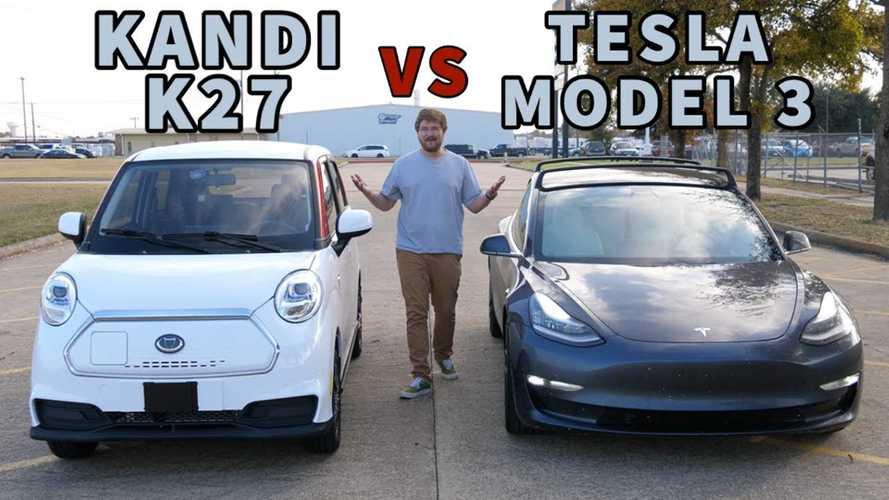 Mobil Termurah di AS Tantang Tesla Model 3 Balapan, Bisa Buat Kejutan?