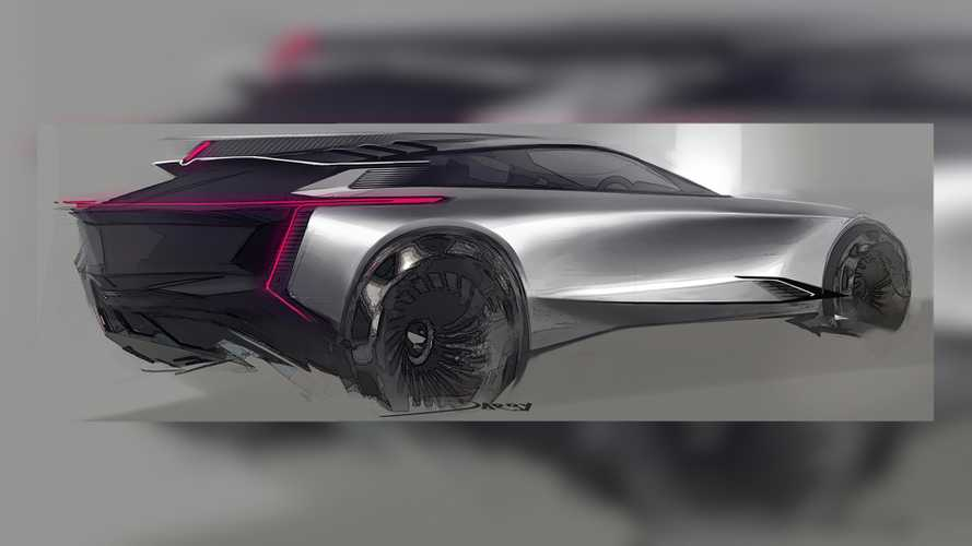 Official GM Sketch Imagines A Sleek Cadillac Crossover