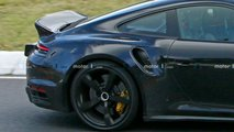 New Porsche 911 Ducktail Spy Photos