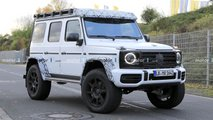mercedes g class squared spy photos