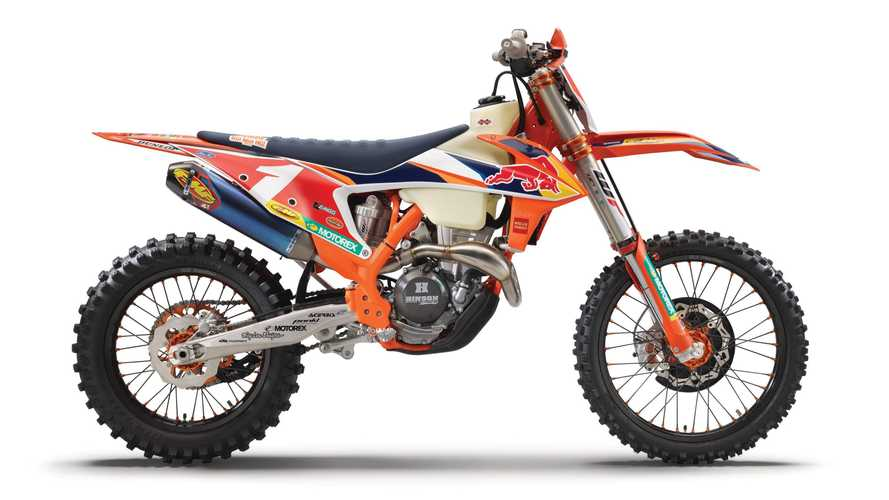 KTM 350 XC-F KAILUB RUSSELL Honors Eight-Time GNCC Champion