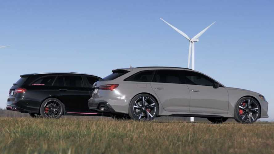 Mercedes-AMG E63 drag races Audi RS6 Avant for estate supremacy