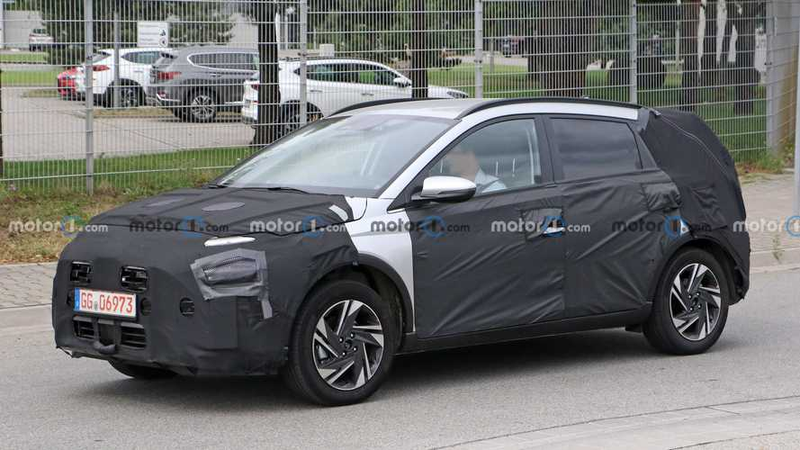 Hyundai Bayon Spied Just Hours After The Official Announcement