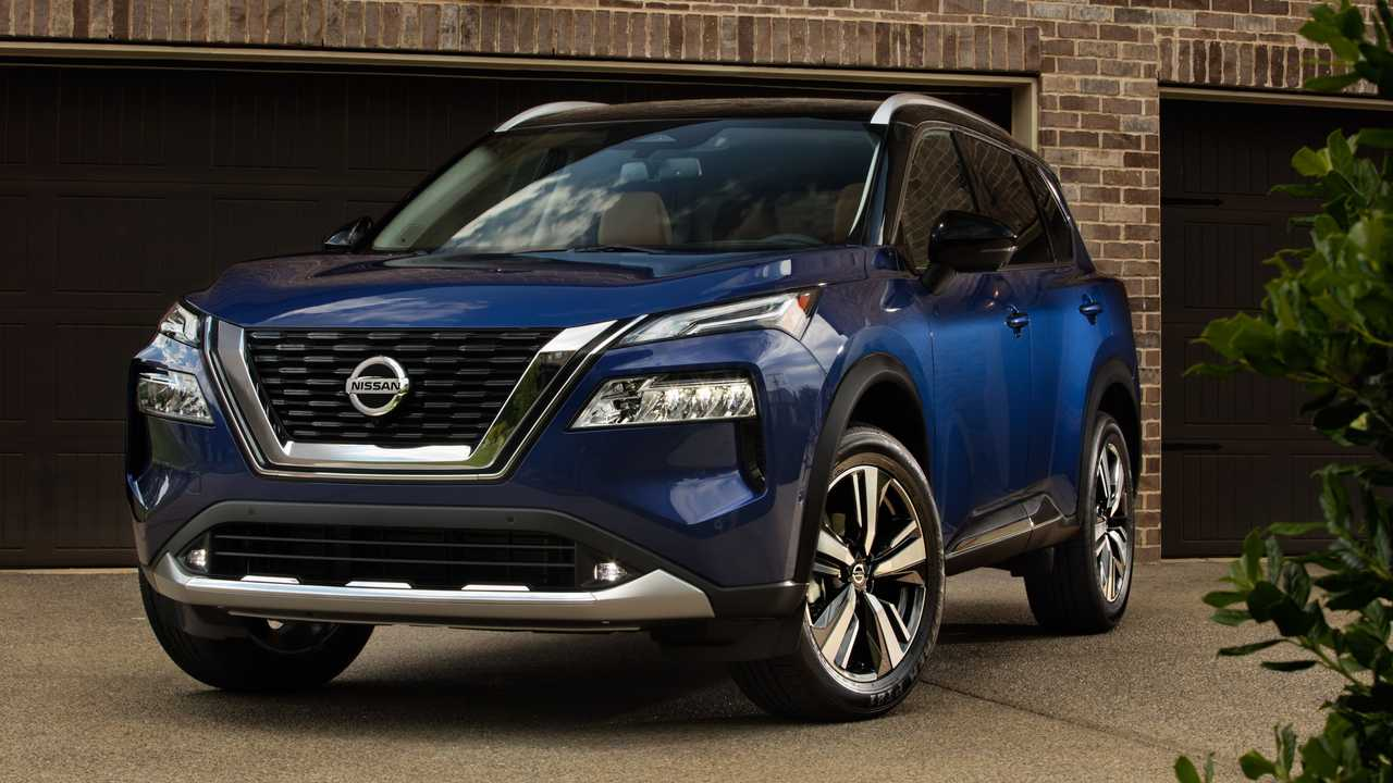 2021 Nissan Rogue Front