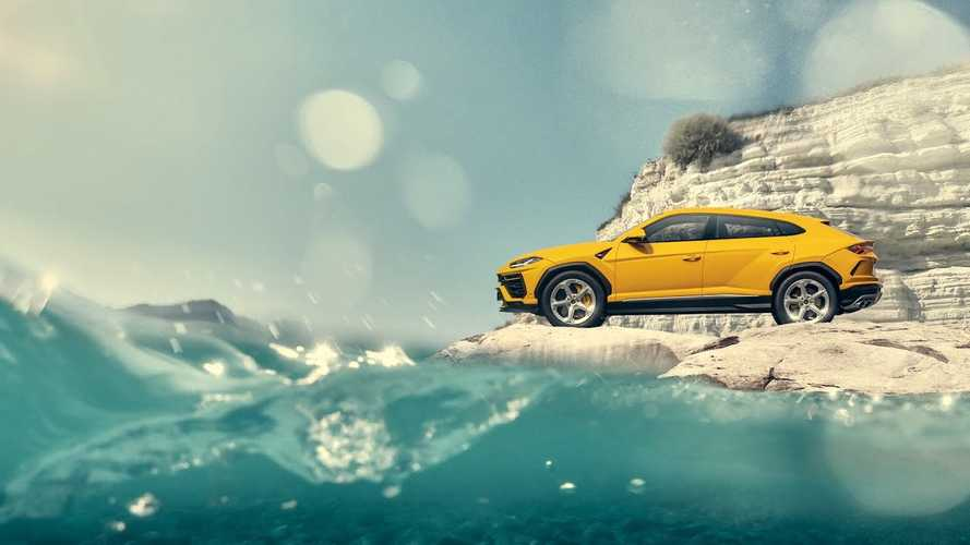Lamborghini Urus scale model ad shows you can fake it till you make it