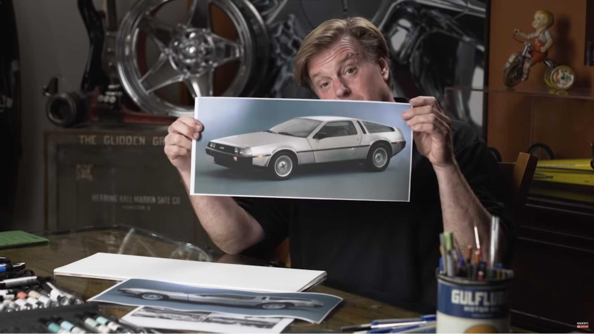 Чип Фуз модернизирует DeLorean DMC-12