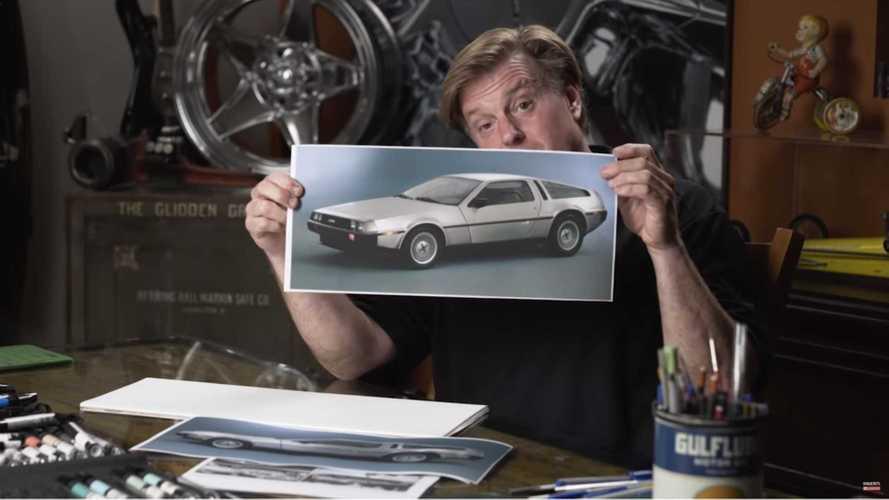 Chip Foose moderniza el DeLorean DMC-12