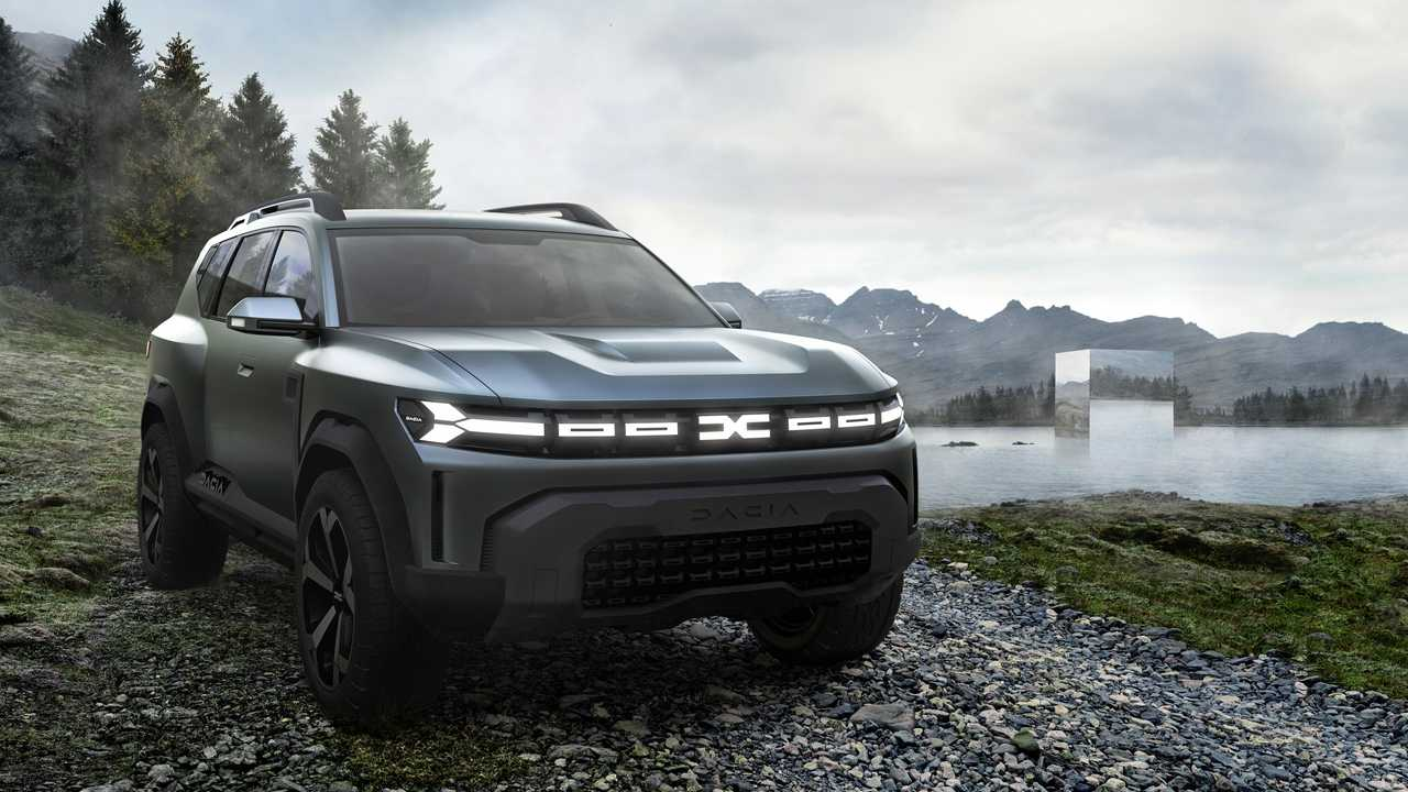 Dacia Bigster-Konzept