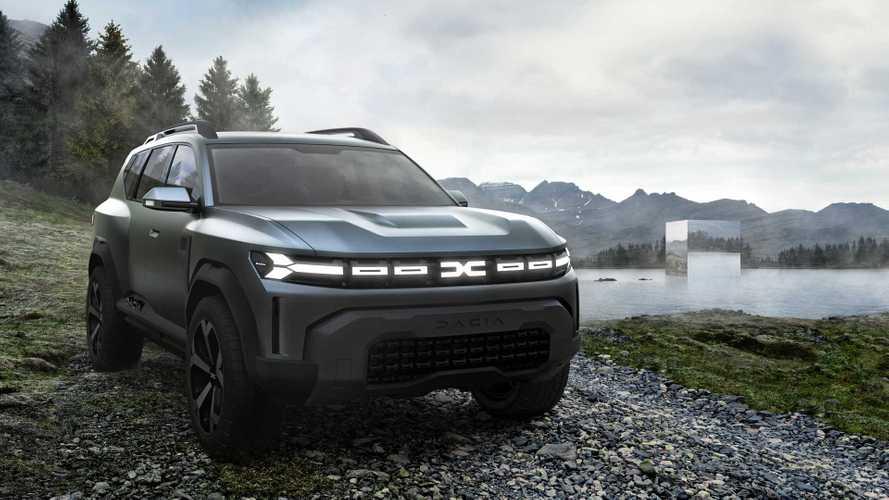Dacia Bigster Concept: Neues Kompakt-SUV mit sehr kantiger Optik