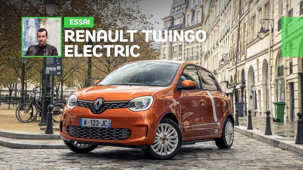 Essai Renault Twingo Electric (2020)