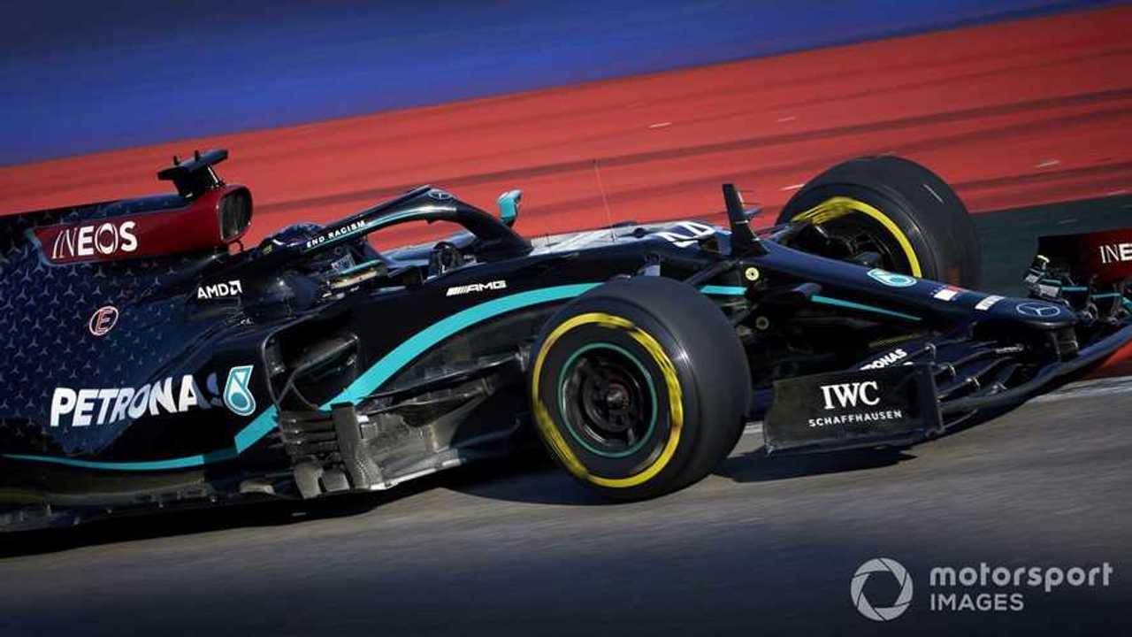 Lewis Hamilton at Russian GP 2020