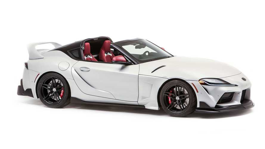 Toyota GR Supra Sport Top revealed as a targa nod to the past