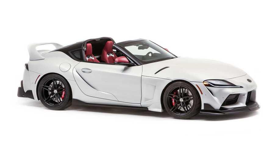 Toyota GR Supra Sport Top A70'e ve A80'e selam veriyor