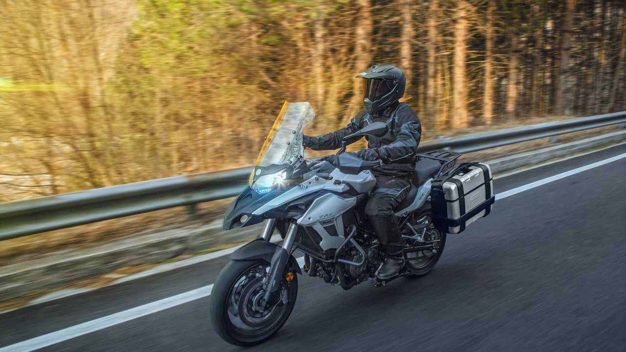 Benelli TRK 502 Riding