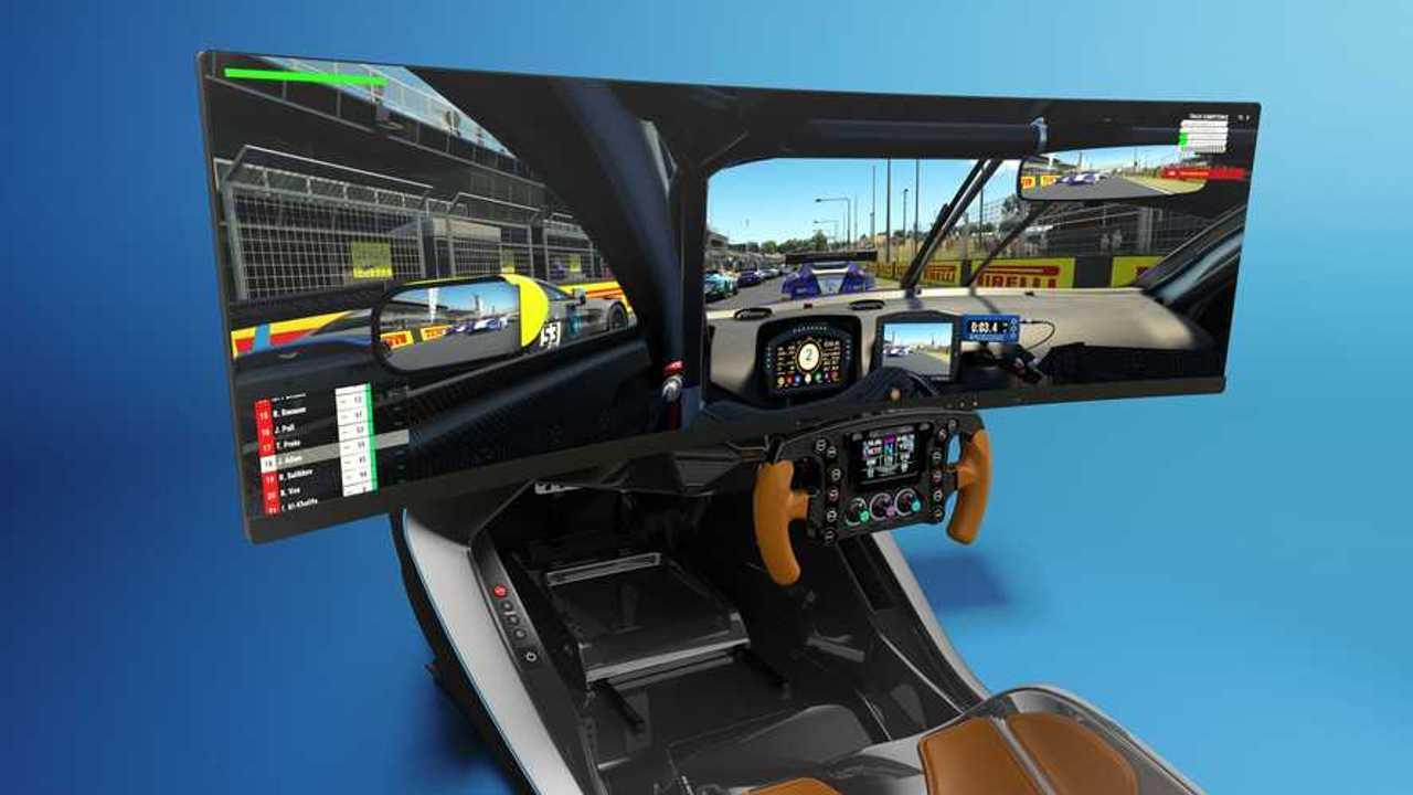 Aston Martin AMR-C01, il simulatore di guida