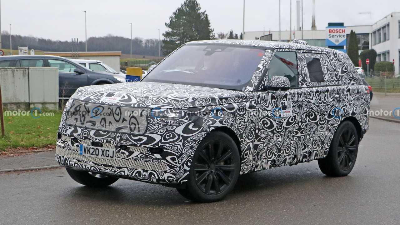 Шпионские фото нового Range Rover, экстерьер