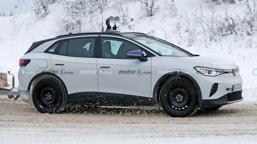 VW ID.4 Spy Photos Show Odd LED Lights, Could Hint At GTX Trim