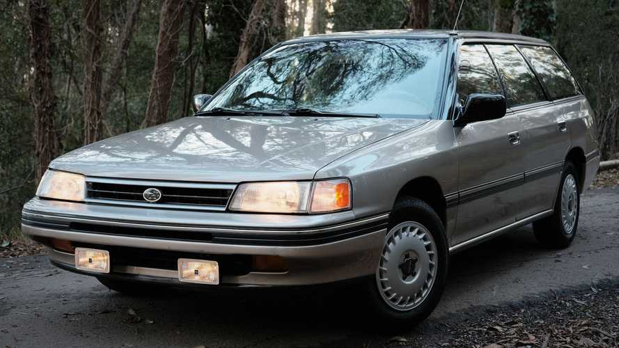 1990 Legacy Wagon Bought By Subaru of America