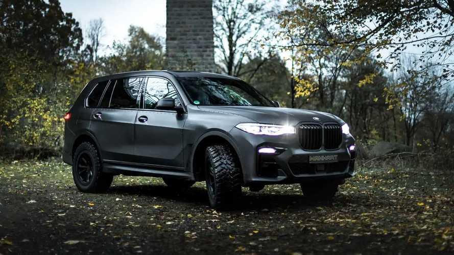 BMW X7 Dirt Edition by Manhart
