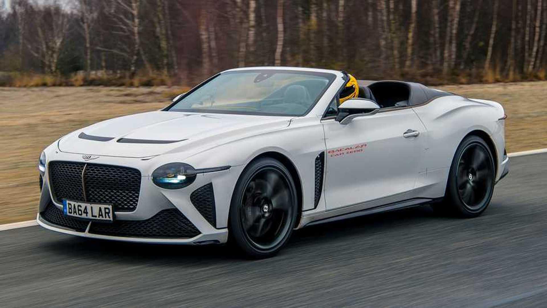 Bentley Bacalar Testa Prototipo Que Chega A 322 Km H