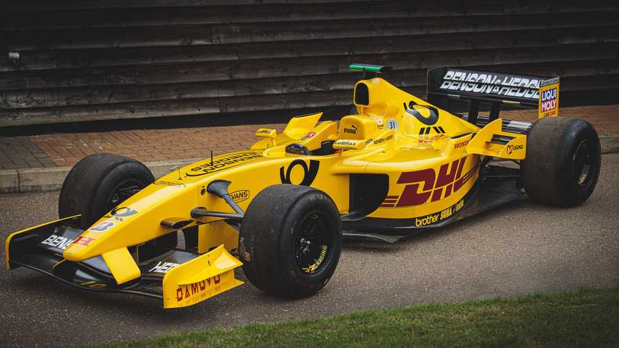 You can own an ex-Takuma Sato Jordan F1 car